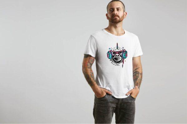 T-Shirt Good Vibes Monkey