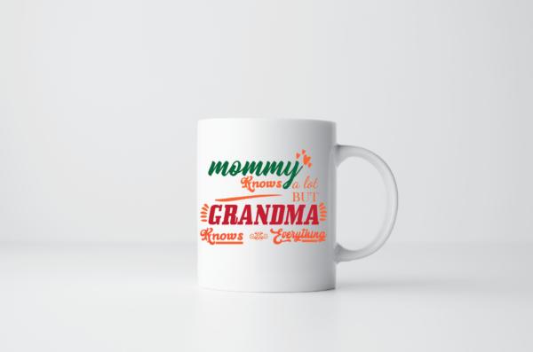 Tazza Grandma Knows Everything