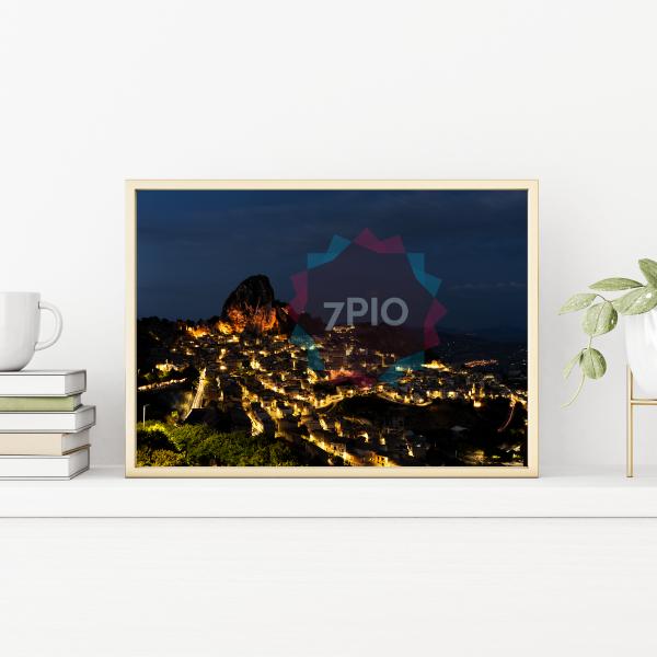 Fotoquadro Panoramica Notte