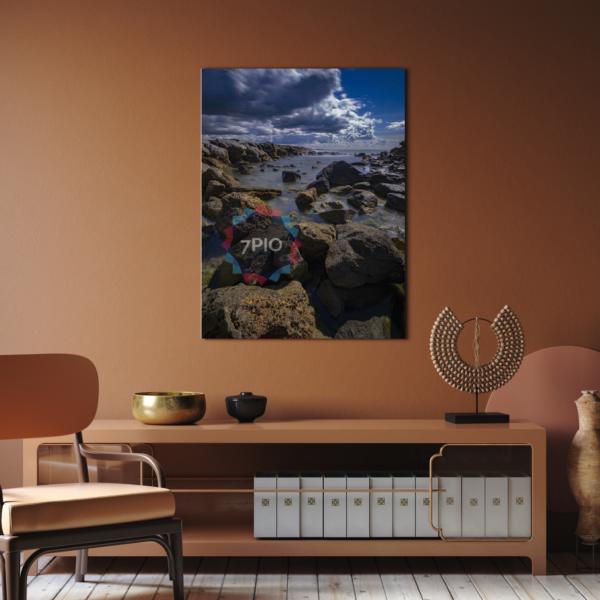 Fotoquadro Rocce sulla Riva – Alberto