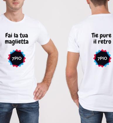 Maglietta Fronte & Retro Personalizzabile